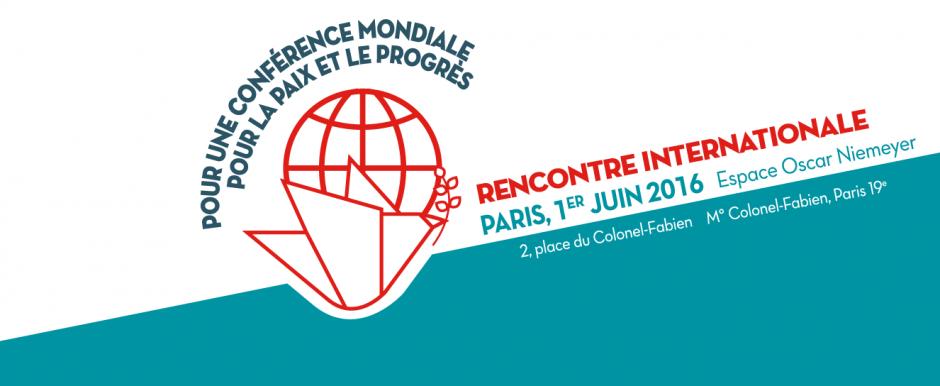 Conférence mondiale pour la paix et le progrès