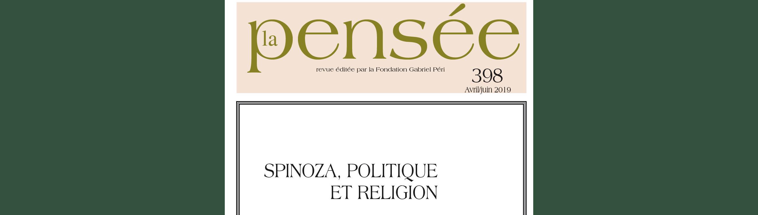 Spinoza, politique et religion