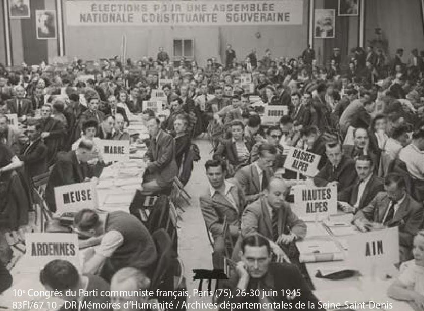 Le PCF à travers ses archives locales (1944 – 2000): dons et dépôts dans les archives publiques. Journée d'études le 4 février 2020 aux Archives Nationales.