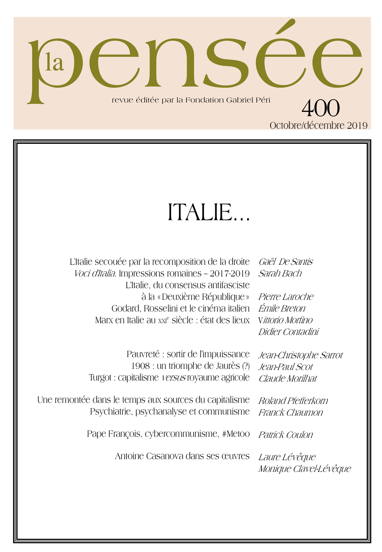 La Pensée n° 400 – Italie…