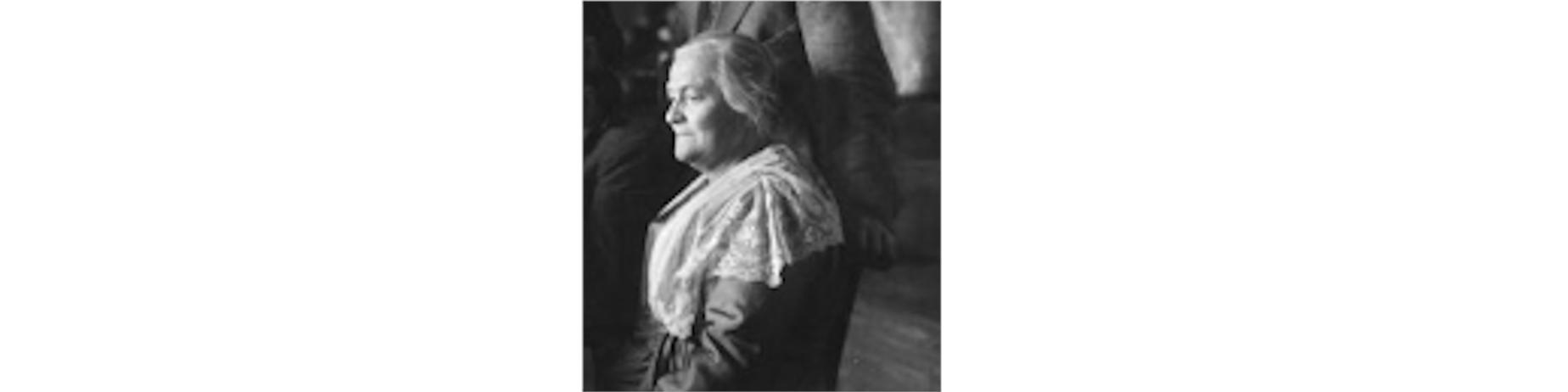 Clara Zetkin au Congrès de Tours le 28 décembre 1920