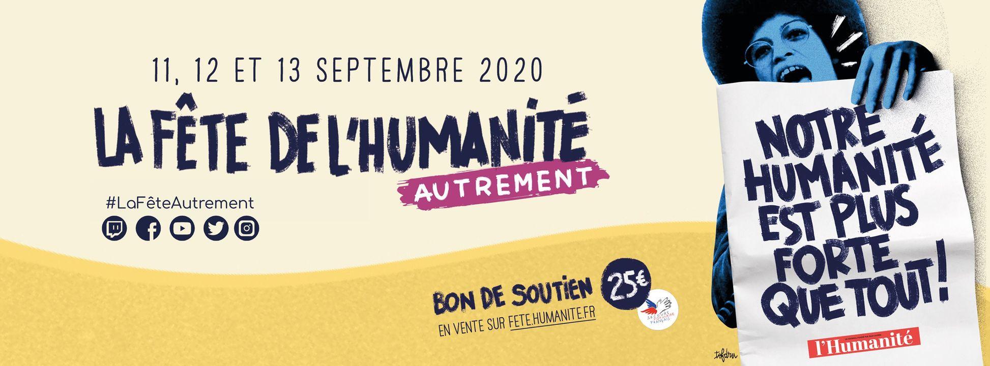 La Fondation à la Fête de l'Humanité 2020