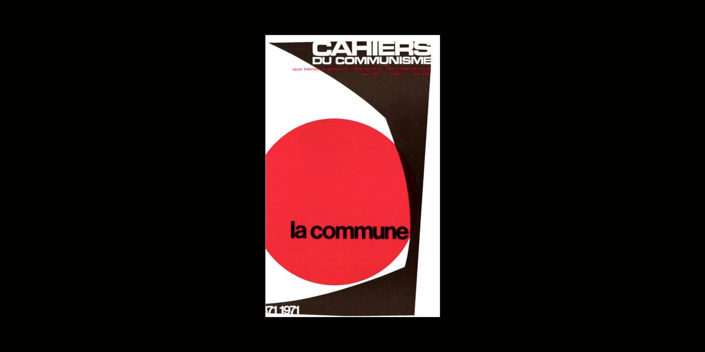 Les cahiers du Communisme