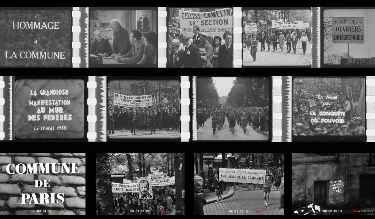 La Commune de Paris sur les écrans rouges (et noirs)