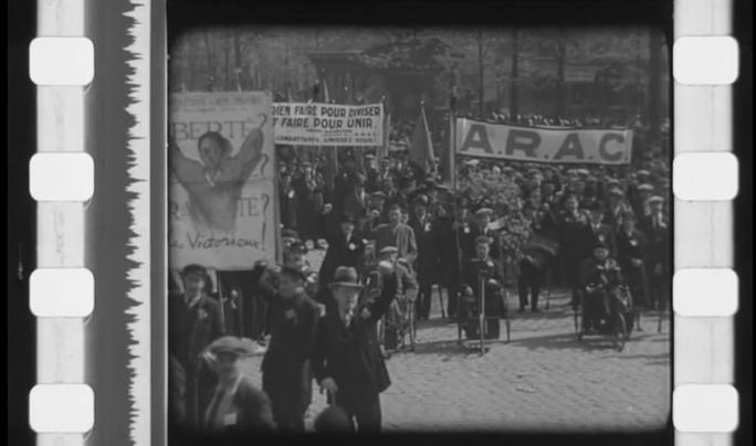 «La Grandiose Manifestation au Mur des Fédérés» (1935)