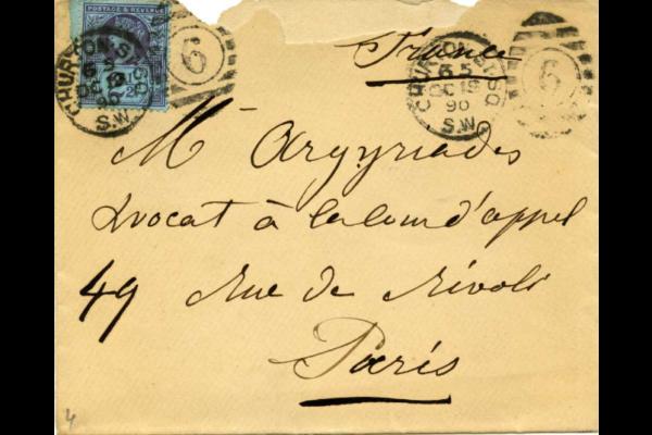 lettre Louise Michel-AD-93